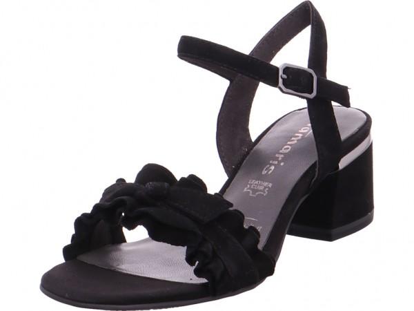 Tamaris Da.-Sandalette Sandale Sandalette Sommerschuhe schwarz 1-1-28028-30/001-001