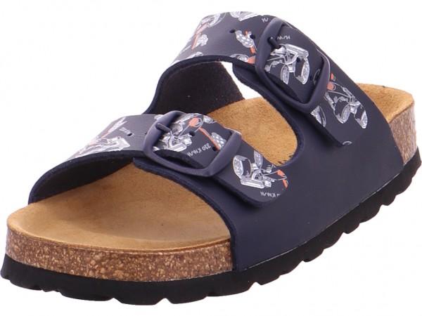 BOLD Jungen Pantolette Sandalen Hausschuhe blau 0003-108