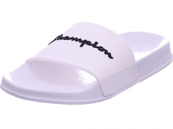Champion Daytona Herren Pantolette Sandalen Hausschuhe Clogs Slipper weiß S10641