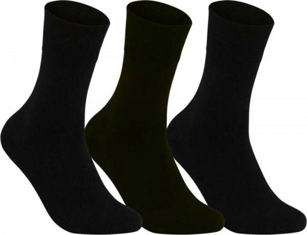 Riese Super XXXL Herrenstrumpf 52/54 Herren Socken schwarz 31039