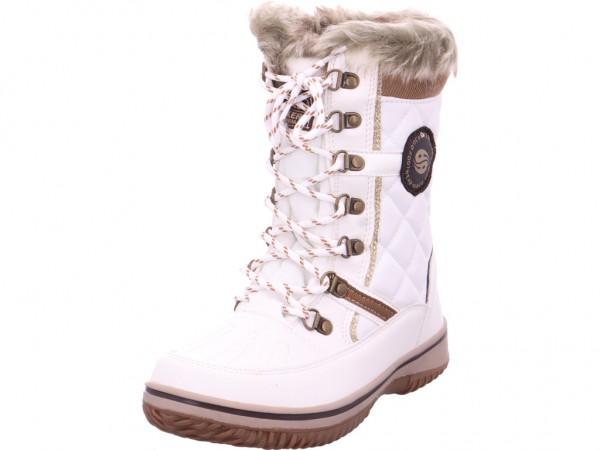 Dockers Damen Stiefel Boots Tex wasserdicht warm weiß 43TA302616