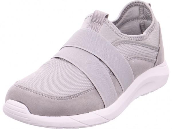 firence Beq.bis25mm-Abs Damen Sneaker Slipper Ballerina sportlich zum schlüpfen grau 4823901