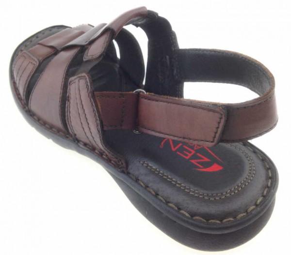 Bild 1 - ZEN Sandale Sandalette braun 6858