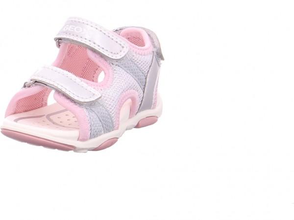geox B S.AGASIM G.A. silver Mädchen Sandale Sandalette Sommerschuhe Sonstige B820ZA-0EWNF/C1007