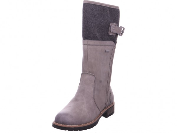 Jana Woms Boots Damen Stiefel grau 8-8-26600-21/231-231