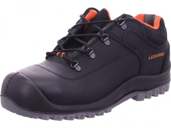 Leopard Sicherheitshalbschuh S3 Unisex - Erwachsene Arbeitsschuhe Sicherheitsschuhe schwarz 12451