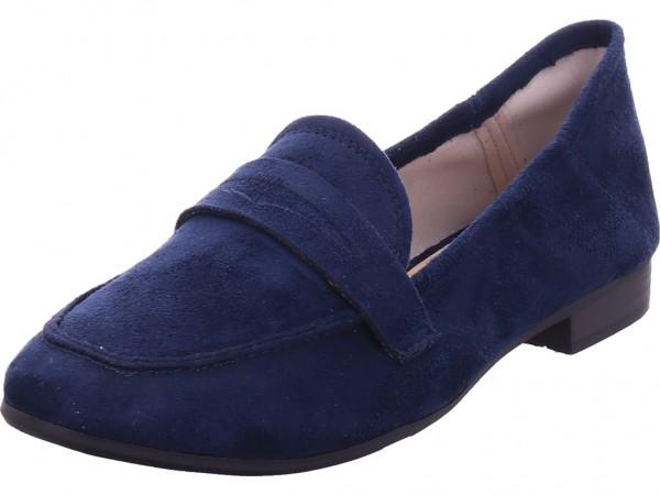 Jana Woms Slip-on Damen Sneaker Slipper Ballerina sportlich zum schlüpfen blau 8-8-24267-26/805