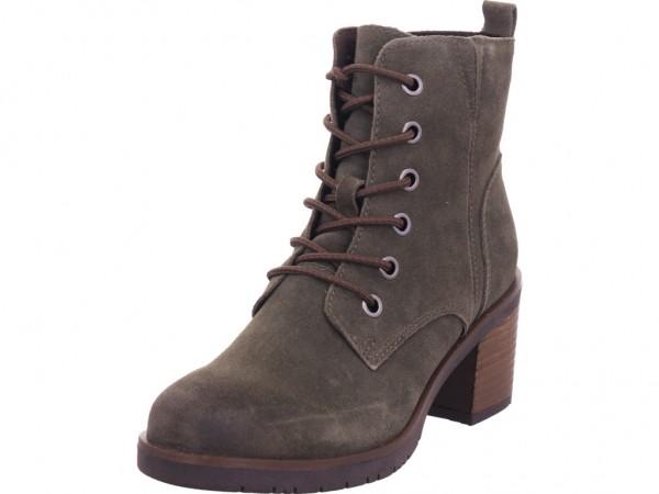 Marco Tozzi Damen Stiefelette Damen Stiefel Schnürer Boots Stiefelette zum schnüren grün 2-2-25202-25/725-725