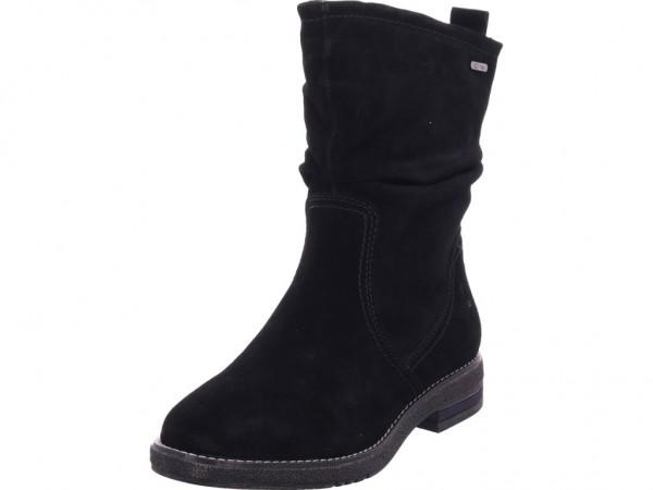Jana Damen Winter Stiefel Boots Stiefelette warm zum schlüpfen schwarz 8-8-26403-23/001-001