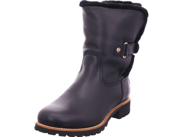 Panama Jack Felia Igloo Travelling B2 Damen Winter Stiefel Boots Stiefelette warm zum schlüpfen schwarz Felia Igloo Travelling B2 Napa