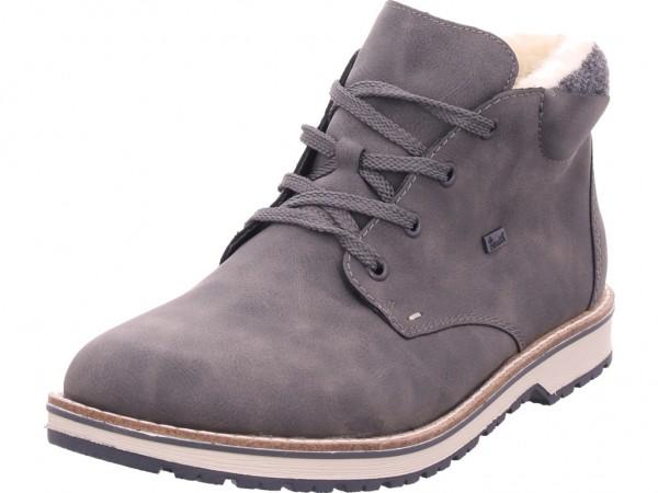 Rieker 3921145 392 Herren Stiefel Schnürstiefel warm sportlich Boots grau 39211-45