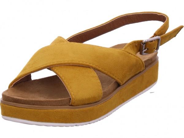 Refresh Sandalia Damen Sandale Sandalette Sommerschuhe gelb 69834