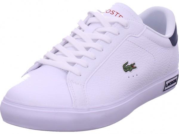 Lacoste Damen Schnürschuh Halbschuh sportlich Sneaker weiß 41SMA0028 407