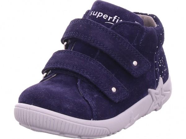Legero Stiefelette Leder \ STARLIGHT Mädchen Stiefel blau 1-009436-8000