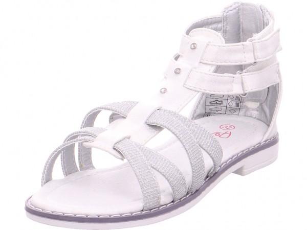 Pep Step Sandaletten-Mädchen Mädchen Sandale Sandalette Sommerschuhe weiß 4842802