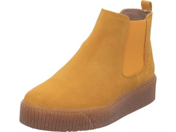 Tamaris Damen Stiefelette Damen Winter Stiefel Boots Stiefelette warm zum schlüpfen gelb 1-1-25813-25/627-627
