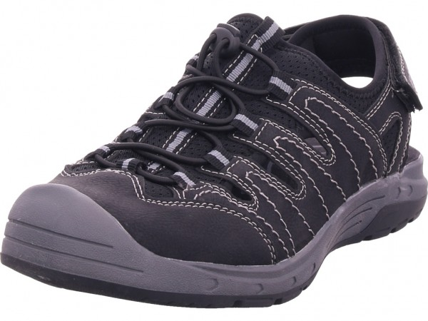 Pep Step Herren Sandale Sandalette Trekking schwarz 6911602