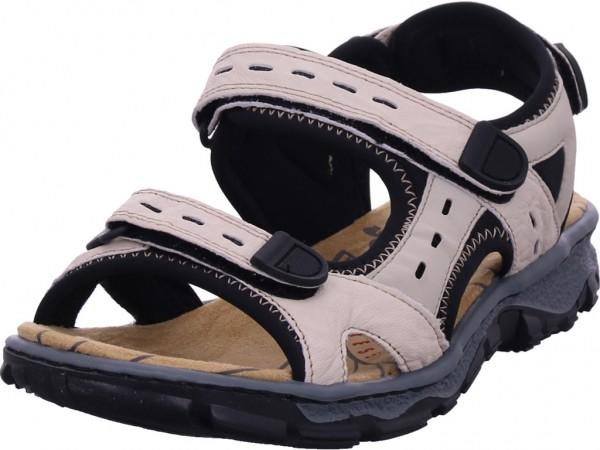 Rieker Damen Sandale Sandalette Sommerschuhe beige 6887260