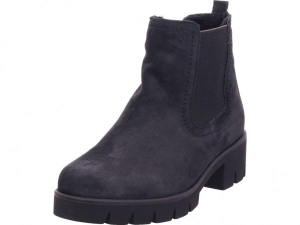 ecco Boots Babett, Leder, Fleece Futter, Reißverschlüsse