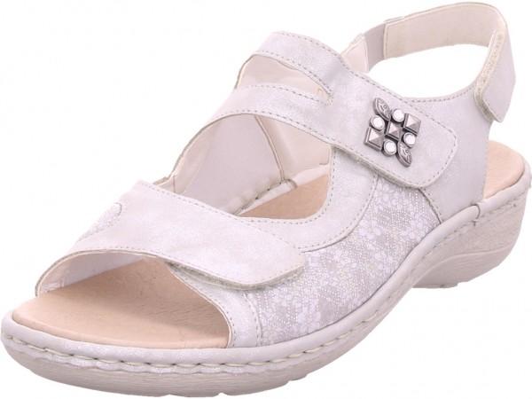 Remonte Damen Sandale Sandalette Sommerschuhe grau D7647-90