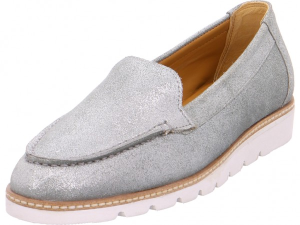 Bild 1 - anwr NV Damen Slipper blau 2054-1/1
