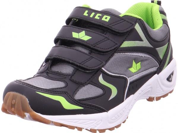 Lico Jungen Sneaker schwarz 360623