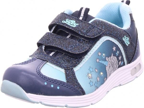 Lico Unicorn V Blinky Mädchen Sneaker blau 300197