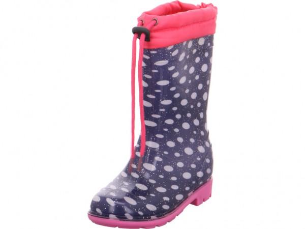Bild 1 - Quick-Schuh Stiefel-ungefütt.Ki Mädchen blau