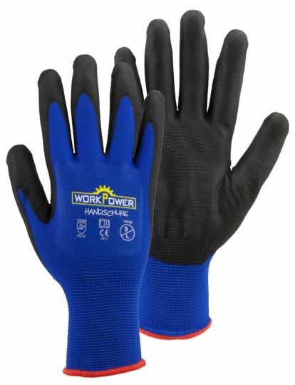 WorkPower Handschuhe Argos blau 12038-1