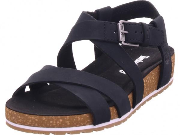 timberland Malibu Waves Ankle Jet Damen Sandale Sandalette Sommerschuhe schwarz TB0A1MR30151