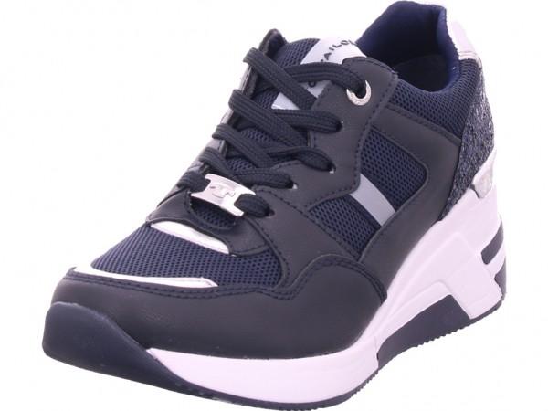 Tom Tailor Damen Halbschuh Sneaker Sport Schnürer zum schnüren blau 8091512