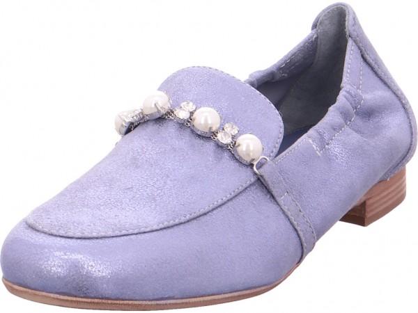 MARIPE S5031382 Damen Sneaker Slipper Ballerina sportlich zum schlüpfen blau 26550 F5031