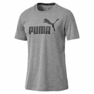 Puma ESS Logo Tee Herren grau 851740