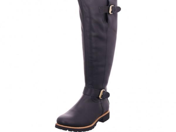 Panama Jack Damen Stiefel lang Overknees Boots Langschaft schwarz Amberes Igloo Travelling B1 Na