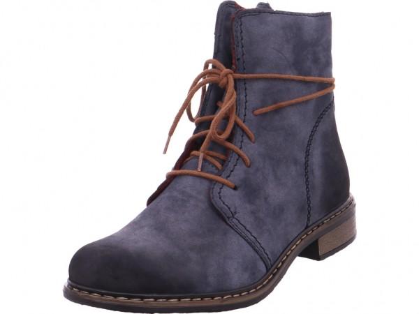 Rieker Damen Stiefel blau 71238-14