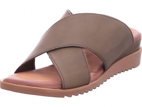 Jana Woms Slides Damen Pantolette Sandalen Hausschuhe Clogs Slipper grün 8-8-27240-34/707-707