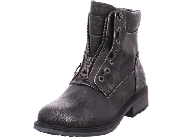 Mustang Damen Winter Stiefel Boots Stiefelette warm zum schlüpfen beige 1264605-200