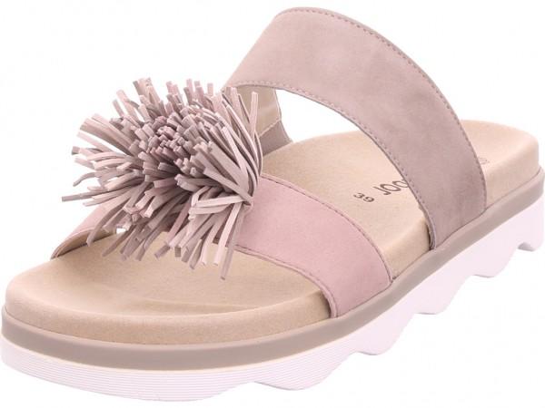 Gabor Damen Pantolette Sandalen Hausschuhe grau 24.610.12