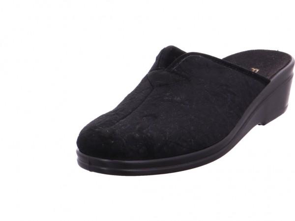 Rohde Damen Pantolette Sandalen Hausschuhe schwarz 4582 90