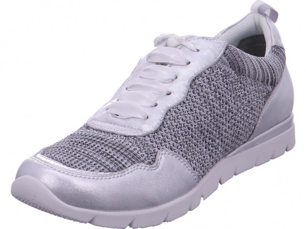 Jana Woms Lace-up Damen Sneaker grau 8-8-23615-22/212-212