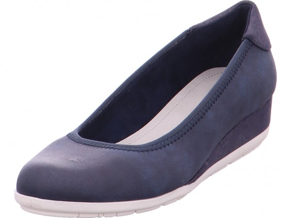s.Oliver Woms Court Shoe Damen Pump blau 5-5-22302-22/891-891