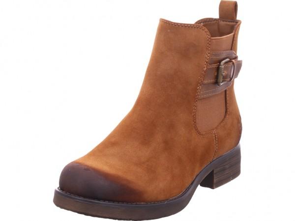 Rieker 9125324 912 Damen Winter Stiefel Boots Stiefelette warm zum schlüpfen braun 91253-24
