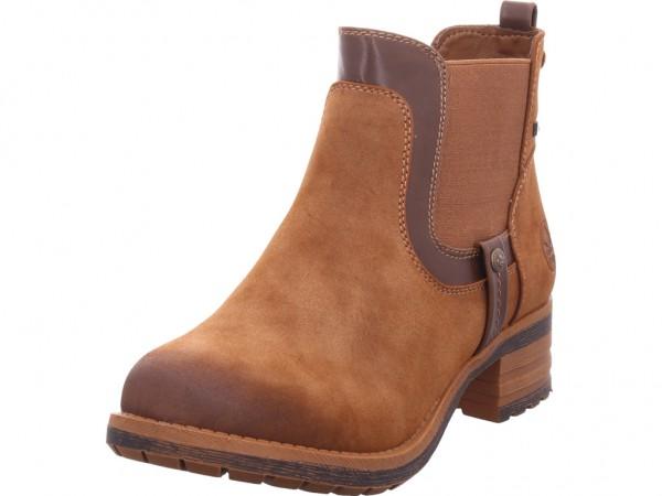 Rieker 9685024 968 Damen Winter Stiefel Boots Stiefelette warm zum schlüpfen braun 96850-24