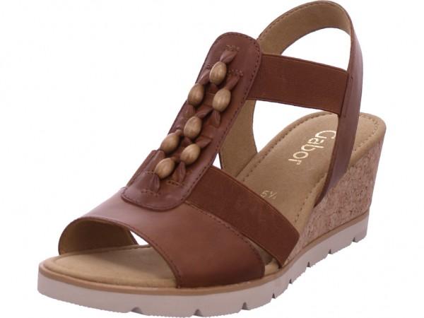 Gabor Damen Sandale Sandalette Sommerschuhe braun 45.750.24