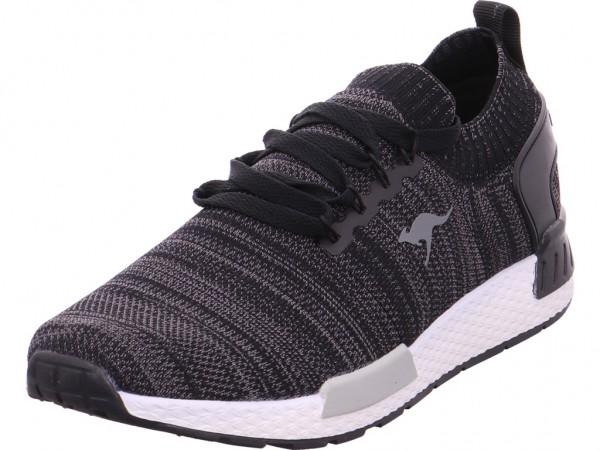 buy online 08867 384f2 KangaRoos Herren Sneaker schwarz 810510005003