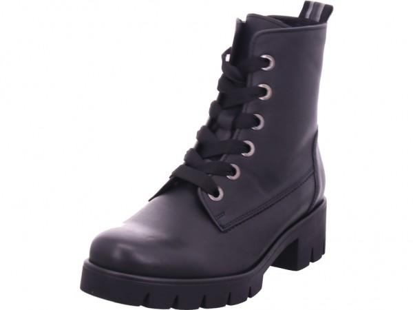 Gabor Damen Winter Stiefel Boots Stiefelette warm Schnürer schwarz 51.711.37