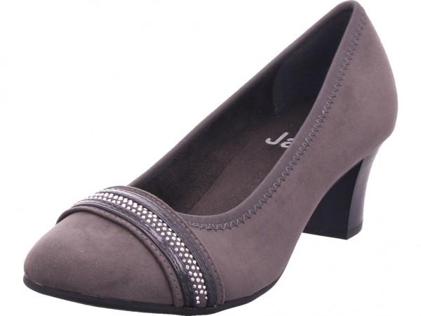 Jana Woms Court Shoe Damen Pump grau 8-8-22474-23/206-206
