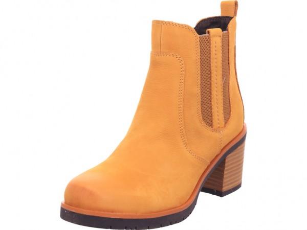 Marco Tozzi Damen Stiefelette Damen Stiefel Stiefelette Boots elegant gelb 2-2-25489-25/627-627