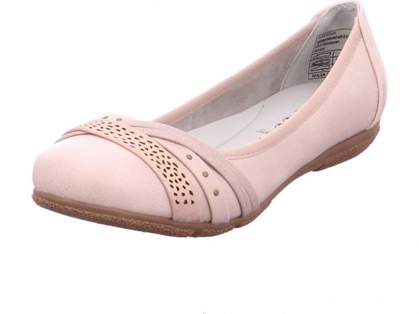 Jane Klain Damen Ballerina rot 221570018 1023745