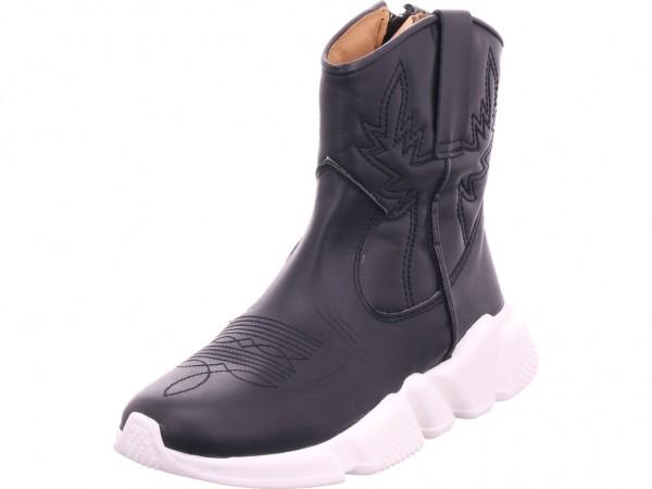 Humat napa negro Damen Stiefel Stiefelette Boots elegant schwarz 2011
